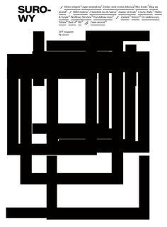 Surowy magazine #cover #edgar #surowy #poland #bk #magazine