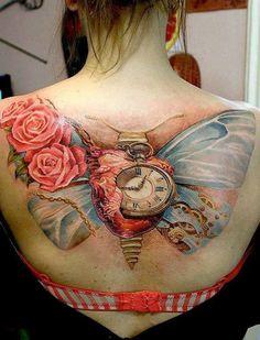 60+ Amazing 3D Tattoo Designs #tattoo #designs #3d