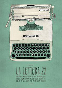 La Lettera 22 #emily #illustration #isles #poster