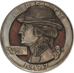 Remarkable Hobo Nickels Carved from Clad Coins by Paolo CurcioDecember 27