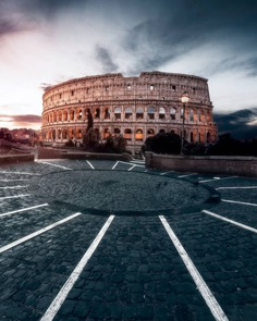 Spectacular Cityscapes of Rome by Valerio Benincasa