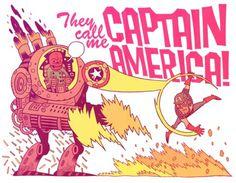 http://mrhipp.tumblr.com/ #america #captain