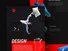 Reekters Free Colorful PSD Web Template