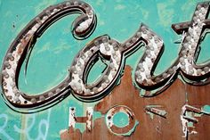 Typographic oasis: The Neon Boneyard: idsgn (a design blog) #script #sign #boneyard #vegas #neon