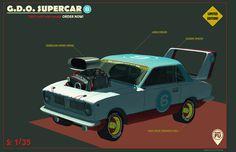 Supercar by Vasili Zorin
