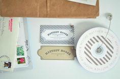 design work life » Emma Robertson: Matthew Moore Identity #branding