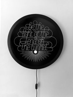 October Show | Exhibition on the Behance Network #lettering #white #design #black #exhibit #and #typography