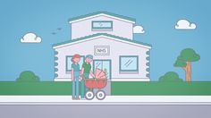 Still from 'Data Linkage' #Animation by The Like Minded #Illustration #Flat #Character #2D