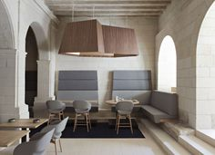 Fontevraud Le Restaurant #interior