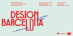 Design Barcelona Tickets, Toronto - Eventbrite #type