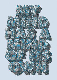 Adam Dedman — Illustration & Graphic Design — My Mind