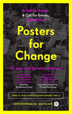 Princeton Architectural Press Poster Design