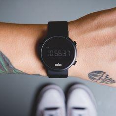 Braun BN0036 Digital Watch #tech #flow #gadget #gift #ideas #cool