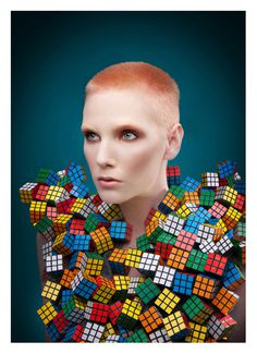 GERWYN DAVIES / FASHION/ EDITORIAL #fashion #colour #editorial #rubik