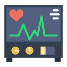 See more icon inspiration related to electrocardiogram, cardiogram, hospital, medical, health clinic and stats on Flaticon.