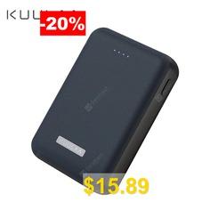 KUULAA #Power #Bank #10000mAh #Portable #Charge #Dual #USB #Mini #External #Battery #Charger #for #iphone