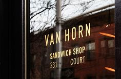 Design Work Life » cataloging inspiration daily #sandwich #van #horn