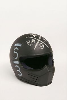 Crash Marks by Tom Darracott #helmet #design