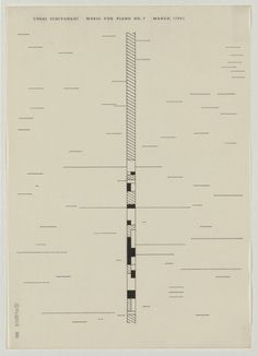 Ichiyanagi 09 #fluxus #abstract #japanese #graphic #music #score
