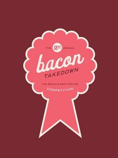 Bacon TD - Allan Peters #pink #bacon