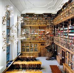 Library #interior #library