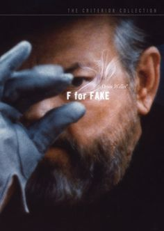 F for Fake (1975) The Criterion Collection #movie #documentary #dvd #wrap #box #cover #film