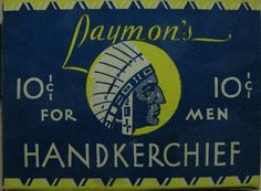 All sizes | Laymon's 10-cent handkerchief | Flickr - Photo Sharing! #packaging #vintage