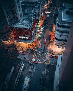 Cinematic Cityscapes and Urban Photography by Stella Yan