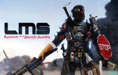 LMS: Killbook of a Bounty Hunter 2 by DanLuVisiArt on deviantART #lms #dan #luvisi #man #standing #last