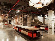 REV Architecture : Boutique Levi's - MUUUZ - Architecture & Design