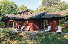 Cozy Villa In Sweden With A Delightful Design By Haubro-Nielsen