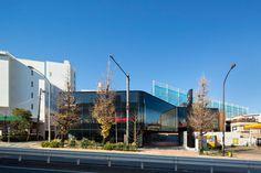 Mazda Showroom in Meguro by Suppose Design Office #design #architecture #minimalism