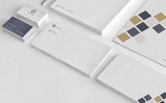 Helcim Group mattwahba #corporate #stationery #branding #clean