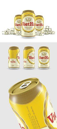 VietHa Beer packaging design