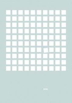 Adapt #ocd #graphic #mental #minimal #poster #patrick #disorder