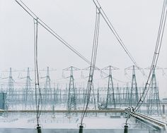 Industrial Areas on the Behance Network #power #photography #lines #electricity