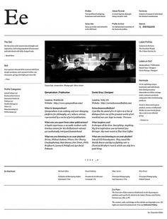 Executive Edits : Beta on the Behance Network