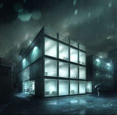 Photoshop Postwork Breakdown Video / The Shipyard #architecture