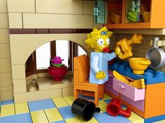 Lego Simpsons Set10 #simpsons #toys #simposons #lego