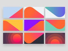 Musixmatch brand visual blocks patterns