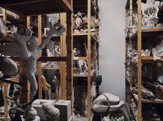 http://goodshoppe.wordpress.com/page/2/ #sculpture #museum #collection #grid #shelves