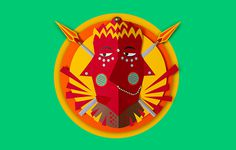 Hindu Deities Masks on Behance #hindu #craft #mask #god #paper