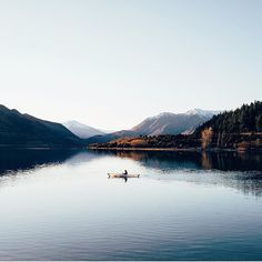 Mornings. Lake Wanaka, New Zealand. Photo by @lebackpacker