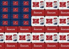 Miller High Life Veterans Can #packaging #beer #can #label