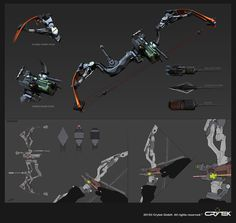 bow #weapon #crytek #fi #sci #bow