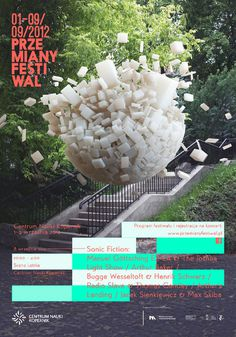 Przemiany Festiwal 2012 (PRINTS) THIS IS SUPERSUPER #print #festival #poster