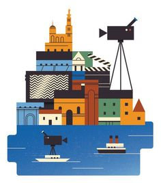 Illustration by Jamie Jones #illustration #city #illu #monocle