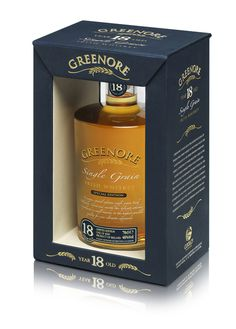 Greenore 18YO Irish Whiskey on Behance #packaging #whiskey #liquor #greenore