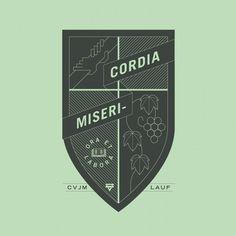 tint.de ¬ Geometry ¬ Misericordia #line #sign #cross #graphic #crest #symbol #logo