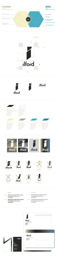 ilford rebranding #brand #design #identity #photography